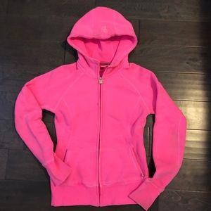 Neon Pink TNA Zip Up